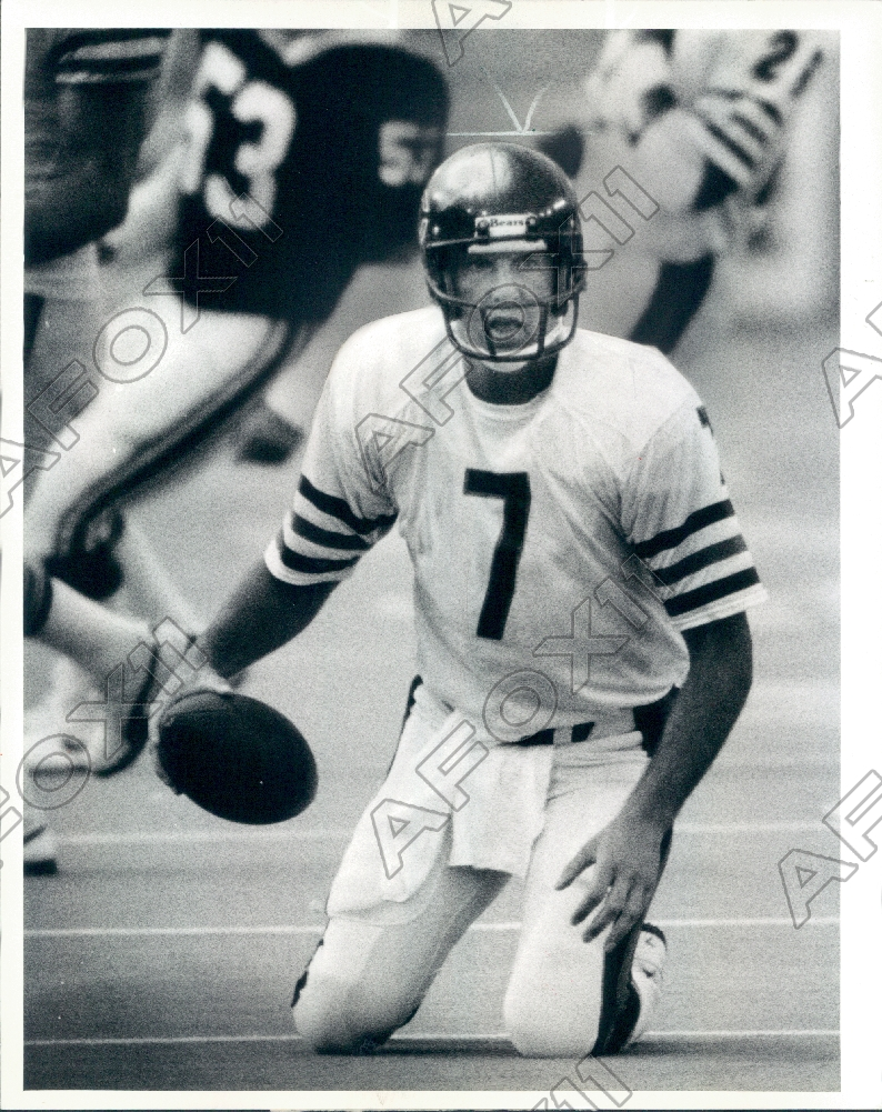 quality design 344ec a1814 Details about 1984 Chicago Bears Football Player Quarterback Bob Avellini  Press Photo